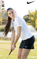 NIKE Ladies  Tech Pique Polo