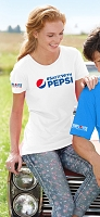 Ladies' Missy Fit T-shirt - #SAYITWITHPEPSI Employee Appreciation