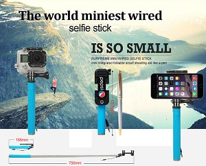 super mini selfie stick pepsi. Black Bedroom Furniture Sets. Home Design Ideas