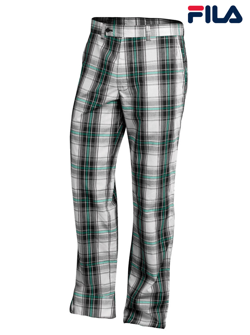 FILA Men's Napoli Plaid Pants