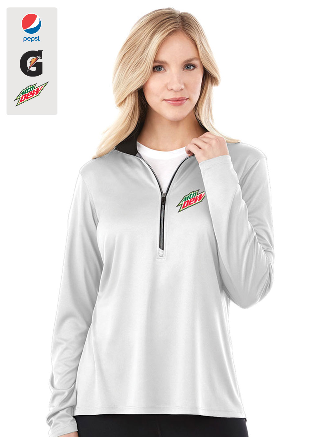 Ladies Vega Tech Half Zip