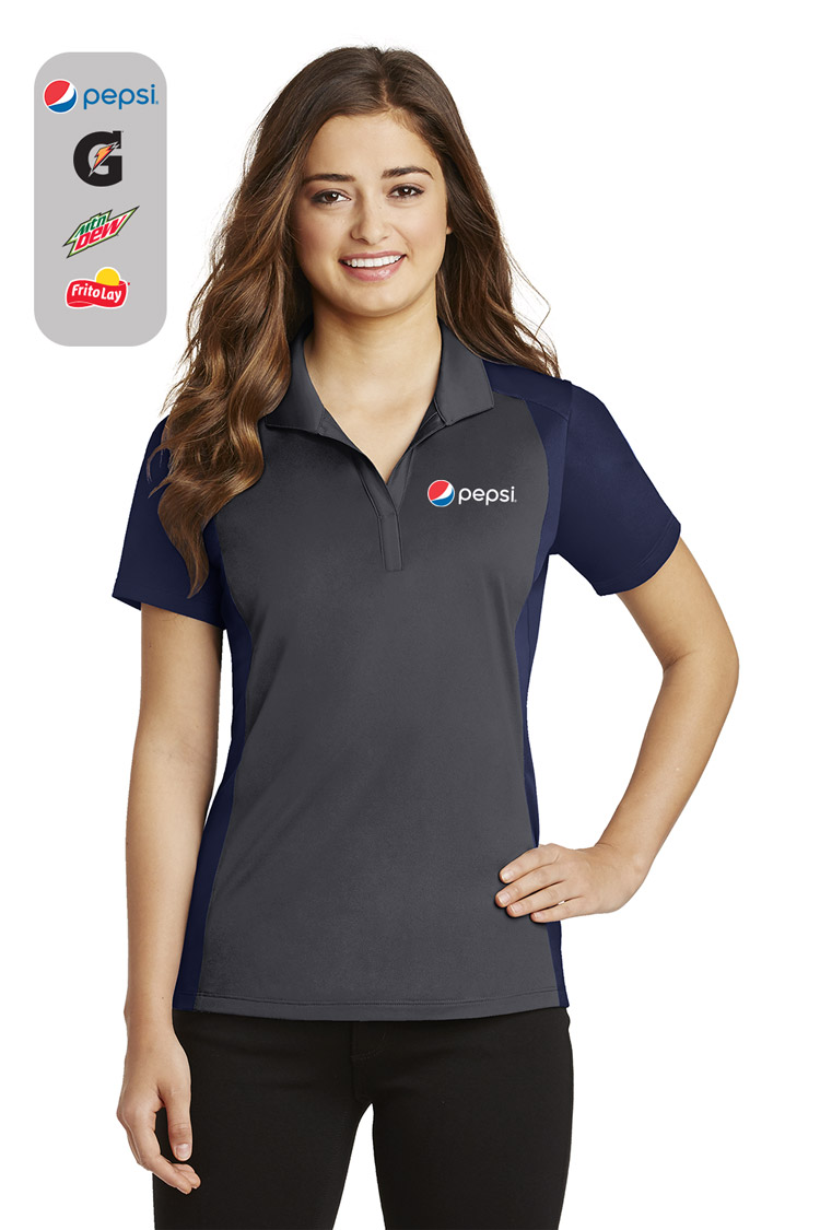 Ladies Colorblock Micropique Sport-Wick® Polo