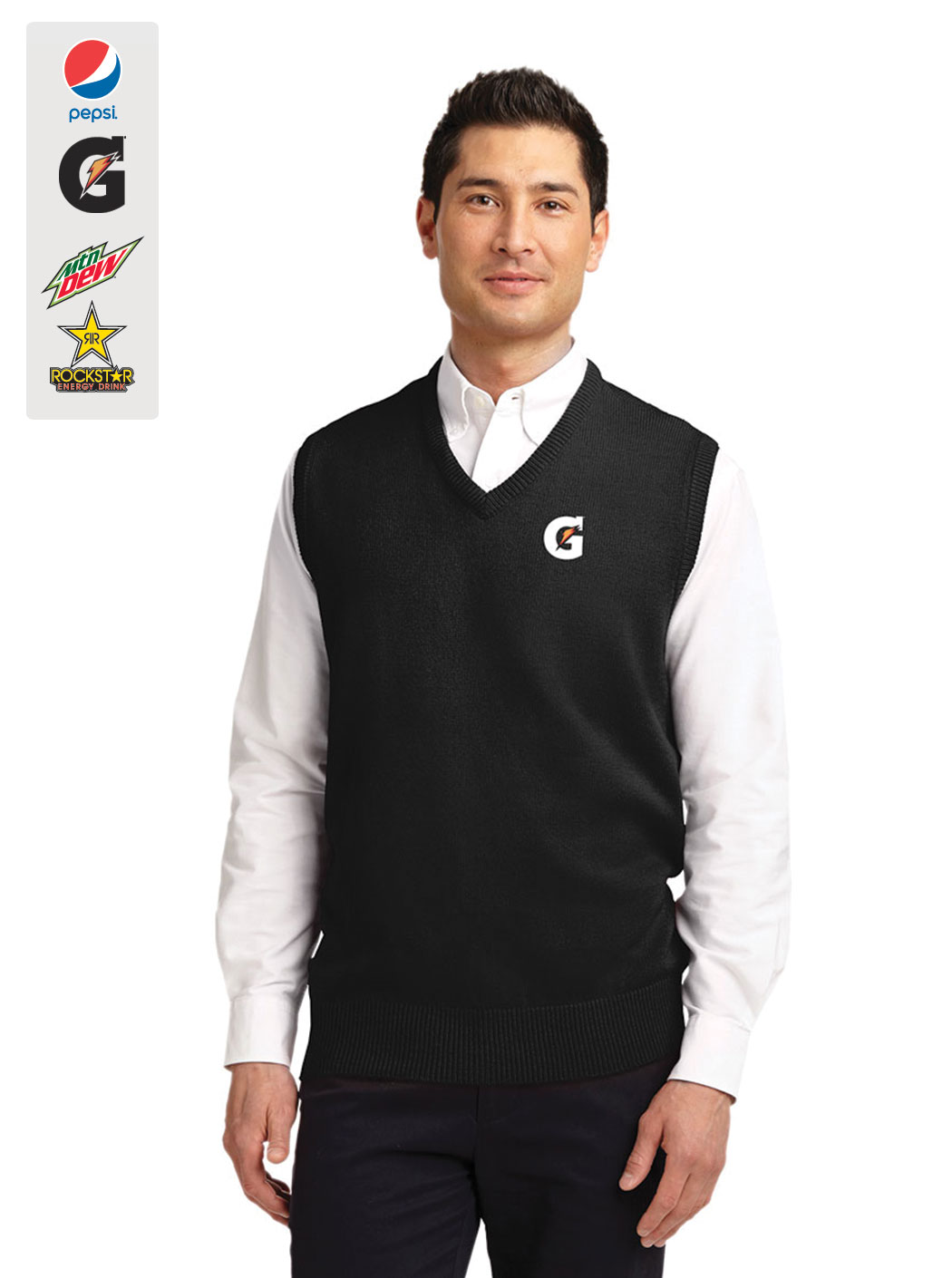 Men's Value V-Neck Sweater Vest