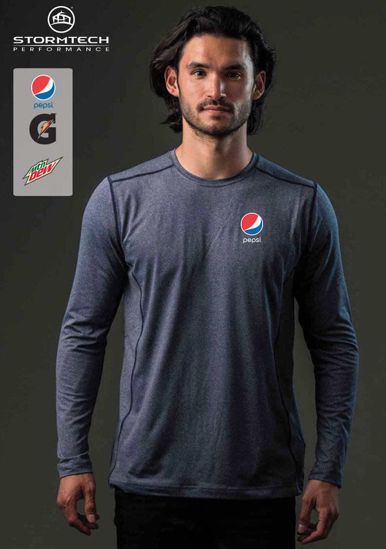 Stormtech Men's Lotus H2X-DRY® L/S Performance Tee