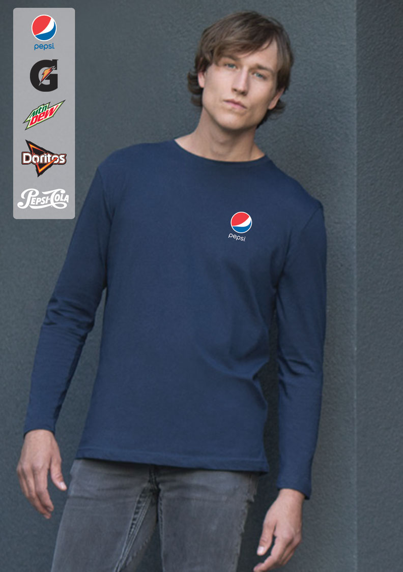 EUROSPUN® RING SPUN LONG SLEEVE T-Shirt
