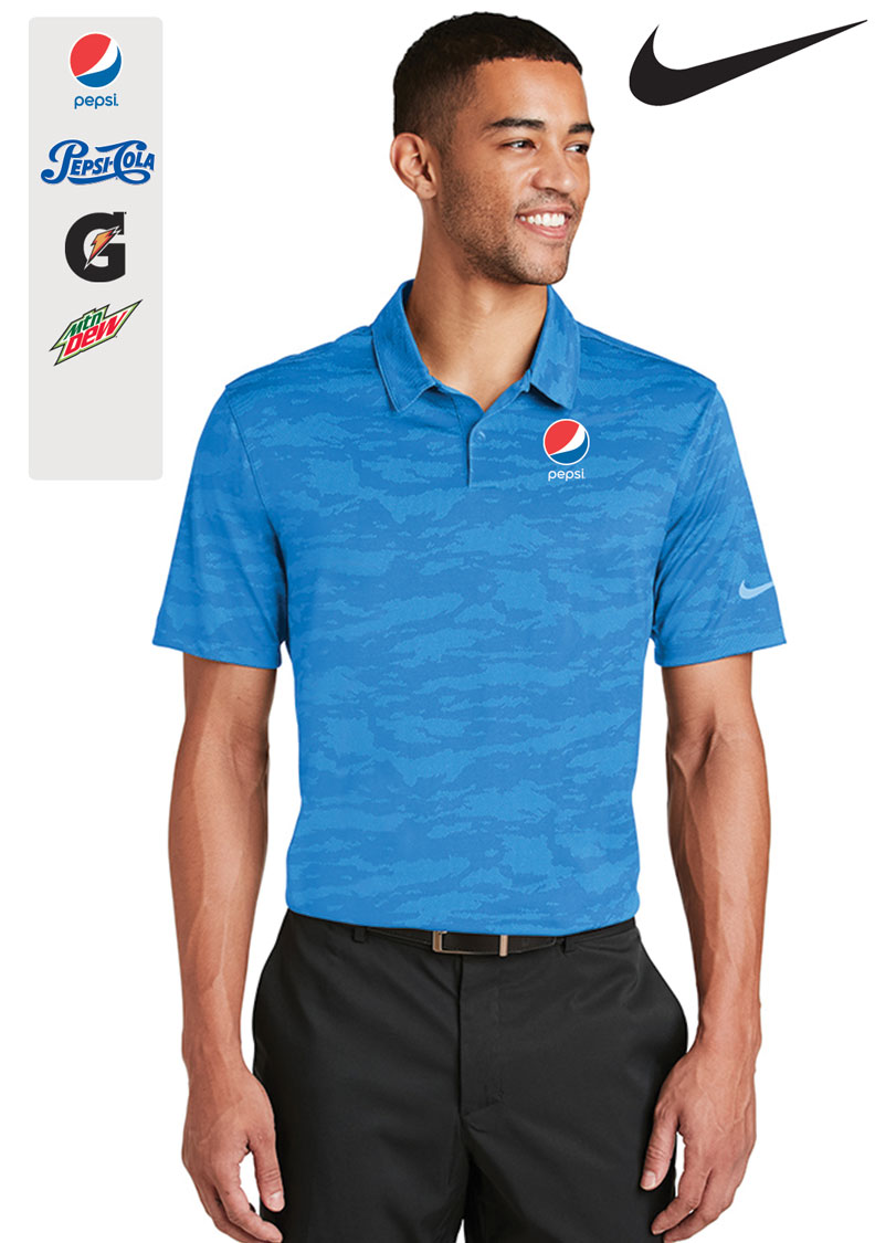 Nike Dri-FIT Waves Jacquard Polo
