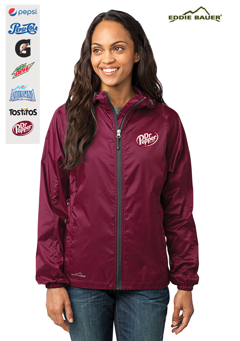 Eddie Bauer® - Ladies Packable Wind Jacket.....Please Login To see our Special Pricing