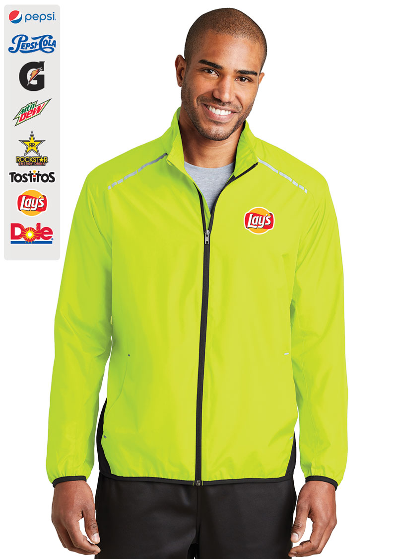 Port Authority® Zephyr Reflective Hit Full-Zip Jacket.....Please Login To see our Special Pricing