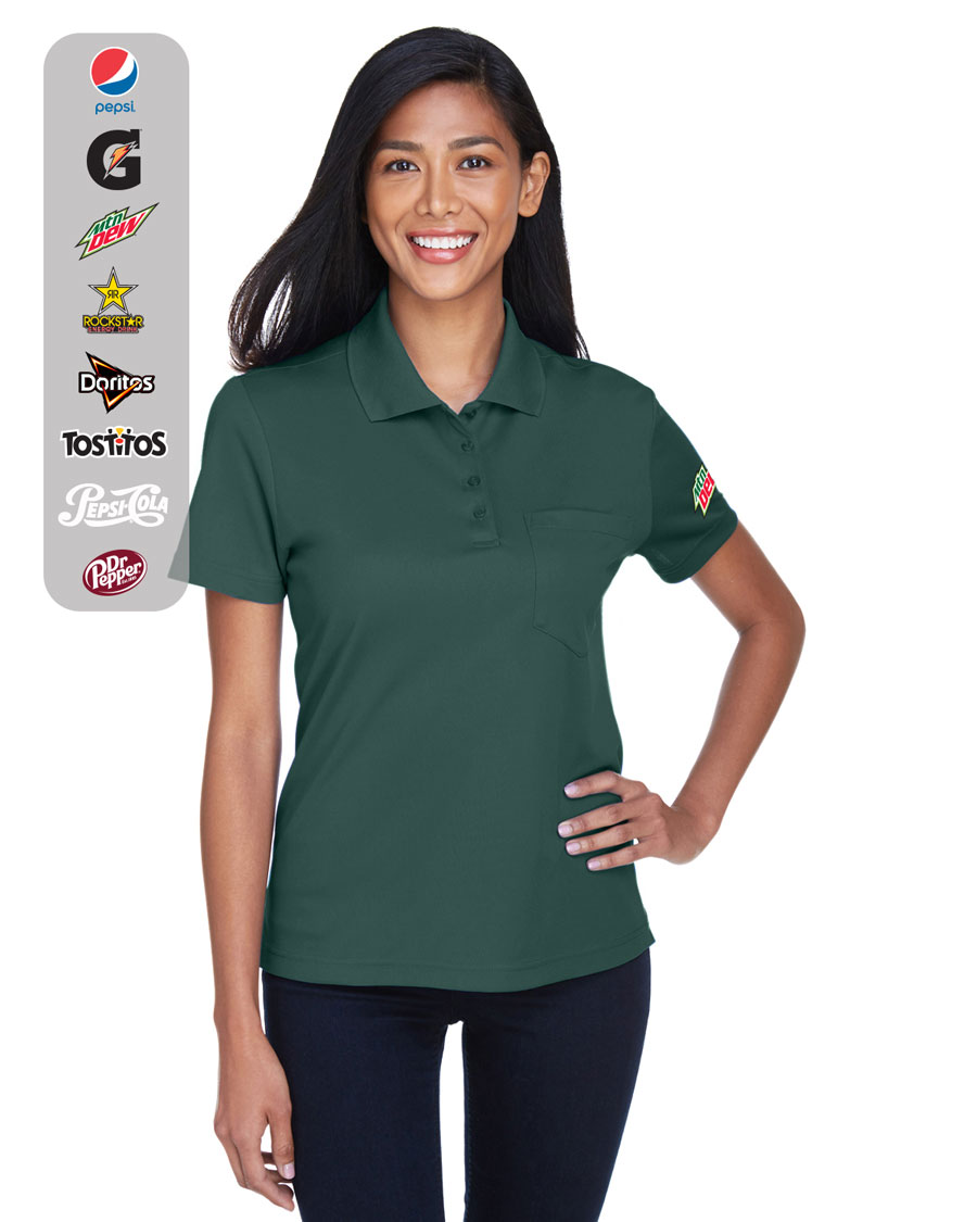 Ladies' Origin Performance Piqué Polo with Pocket