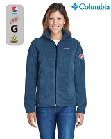 Columbia Ladies' Benton Springs™ Full-Zip Fleece Jacket