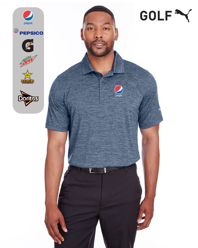 Puma Golf Men's Icon Heather Polo
