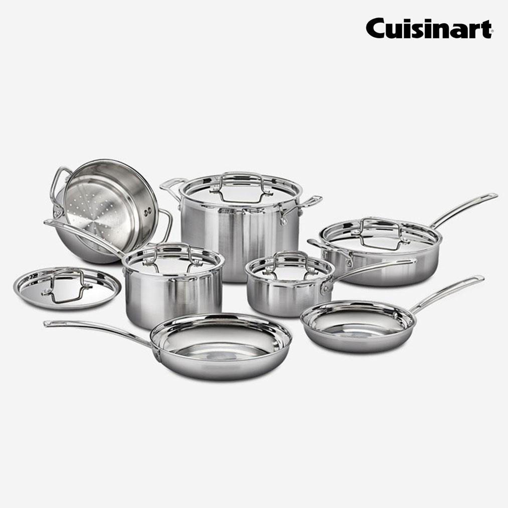 CUISINART 12 Piece Cookware Set