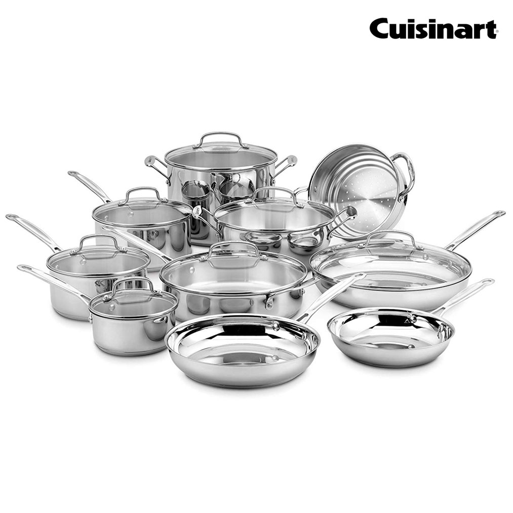 CUISINART Chef's Classic 17-Pc. Cookware Set