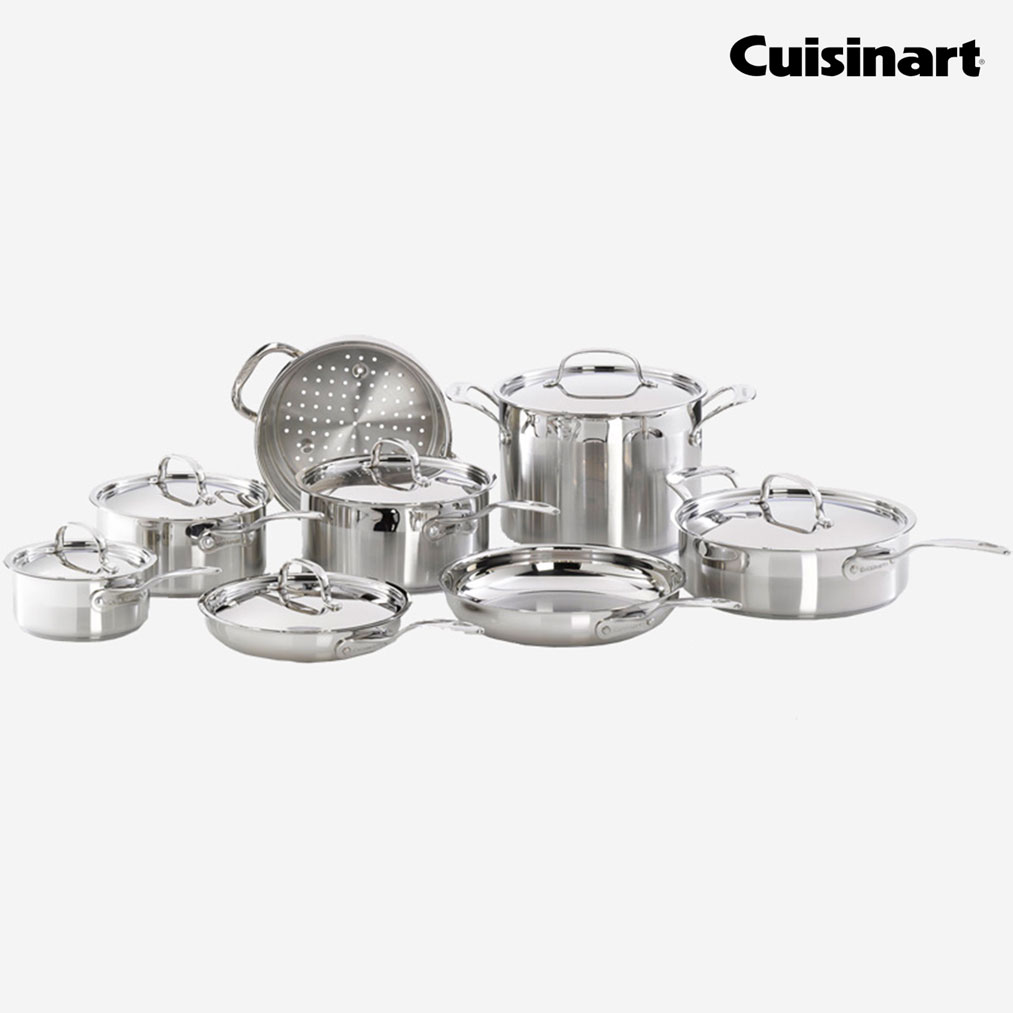CUISINART 14 Piece Cookware Set