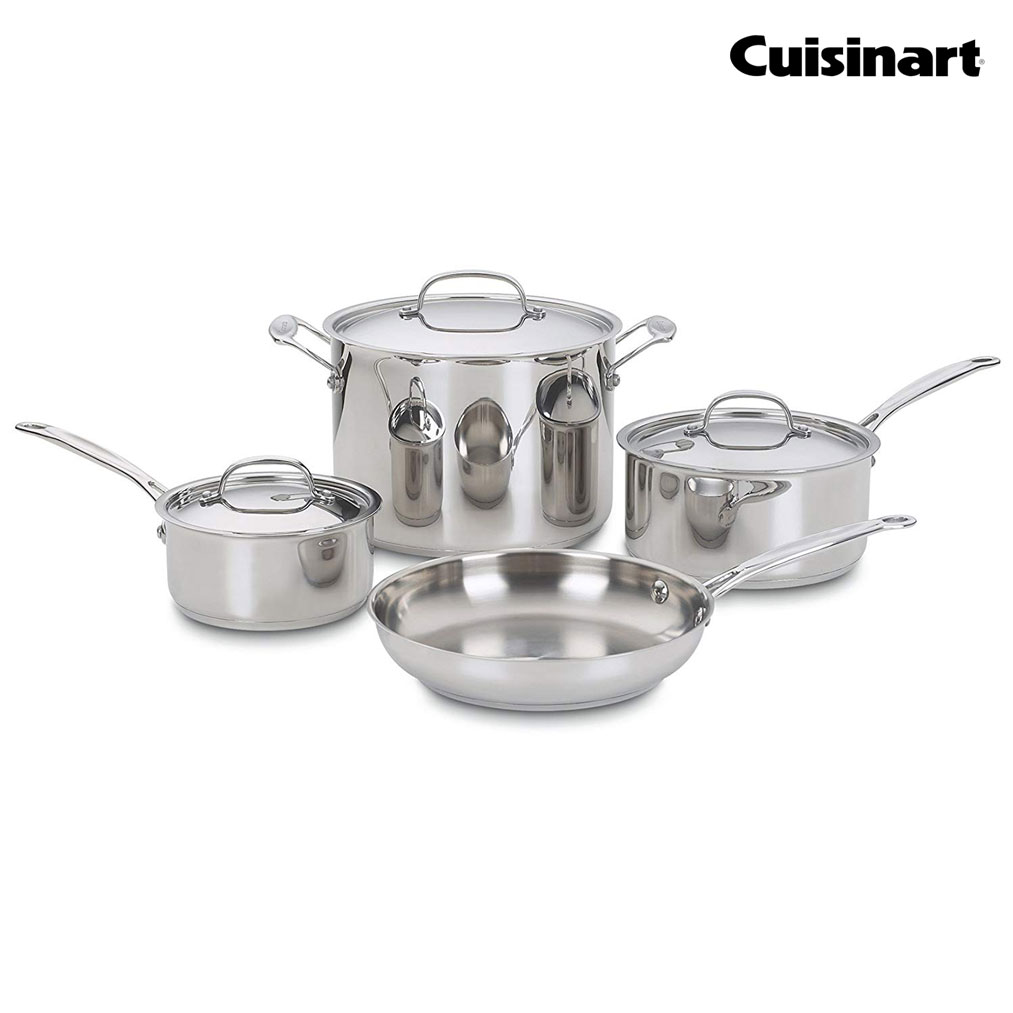 CUISINART Chef's Classic 7-Pc. Cookware Set