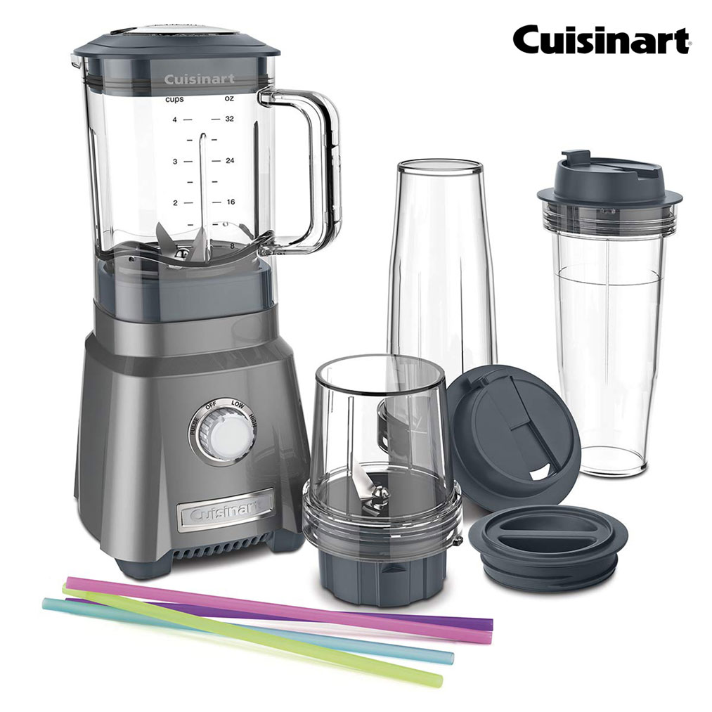 CUISINART Hurricane Compact Juicing Blender - Gunmetal