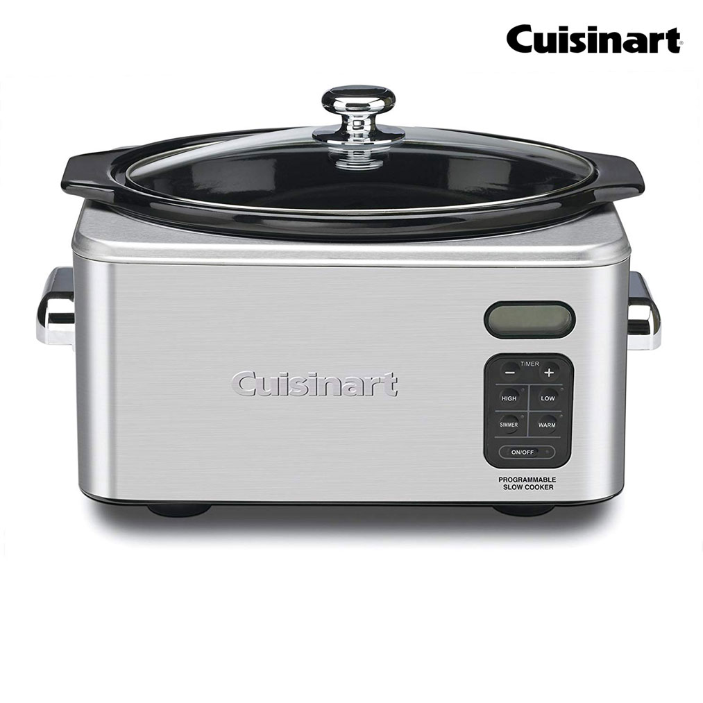 CUISINART 6.5 Quart Programmable Slow Cooker