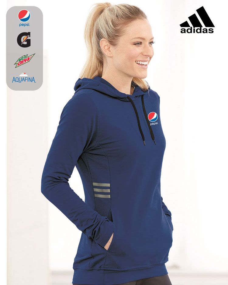Adidas Women's Lightweight Hooded Sweatshirt