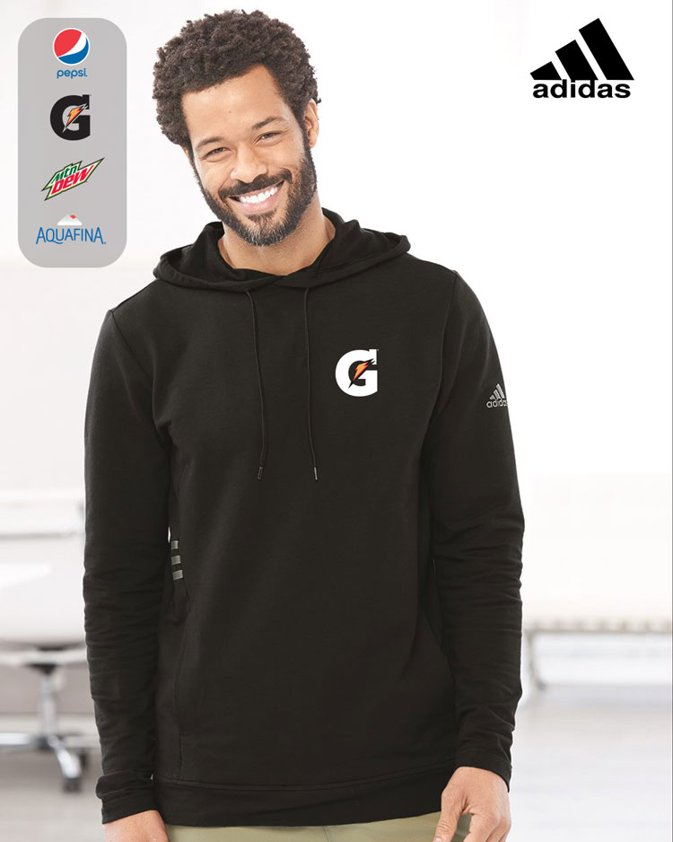 Adidas Men's Lightweight Hooded Sweatshirt