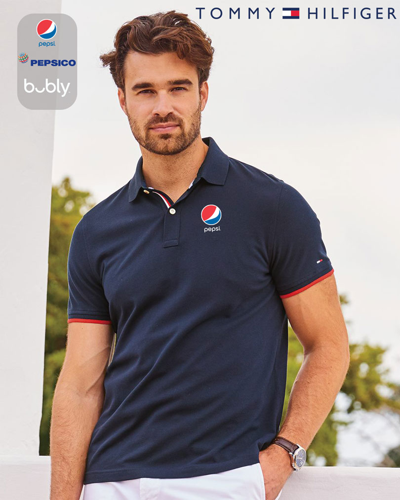 Tommy Hilfiger - Sanders Tipped Cotton Piqué Sport Shirt