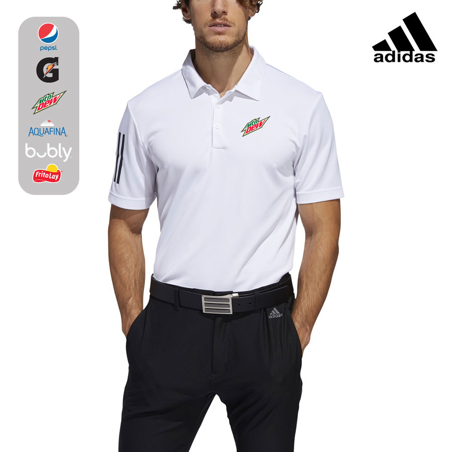 Adidas Men's 3-Stripe Basic Polo