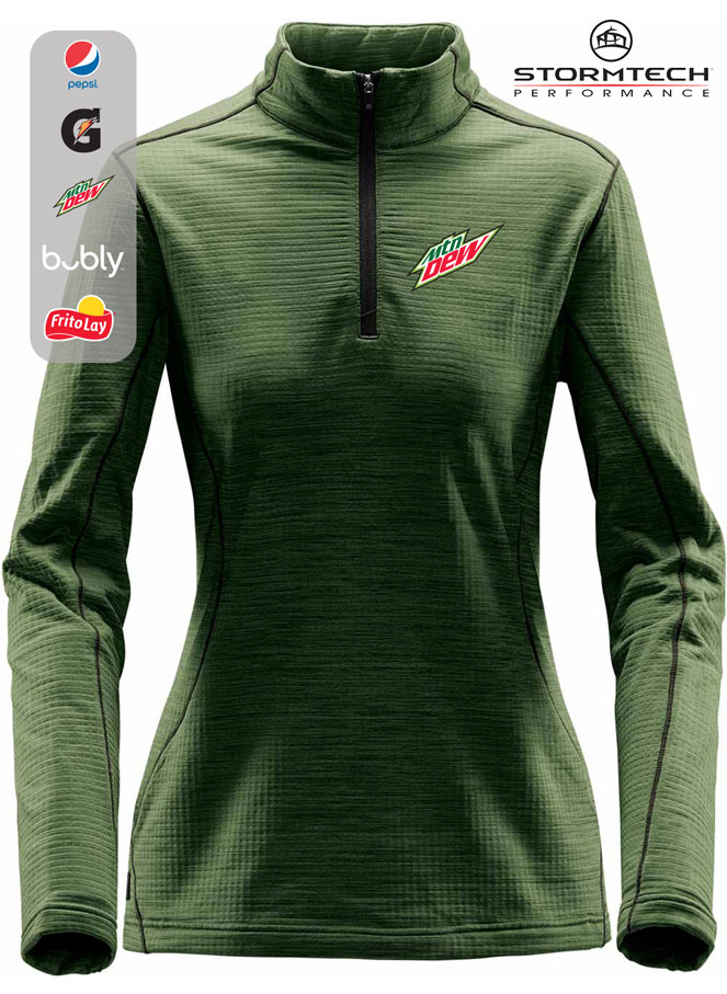 Women's Stormtech Base Thermal 1/4 Zip Sweater