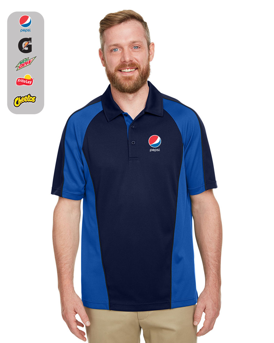 Men's Advantage Snag Protection Plus IL Colorblock Polo