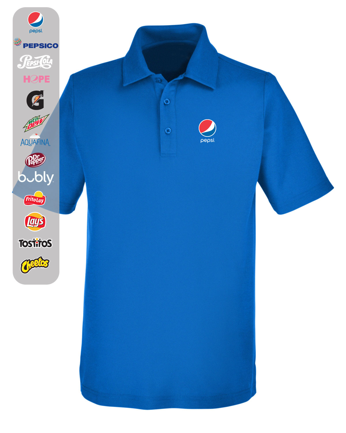 Men's Fusion ChromaSoft™ Pique Polo