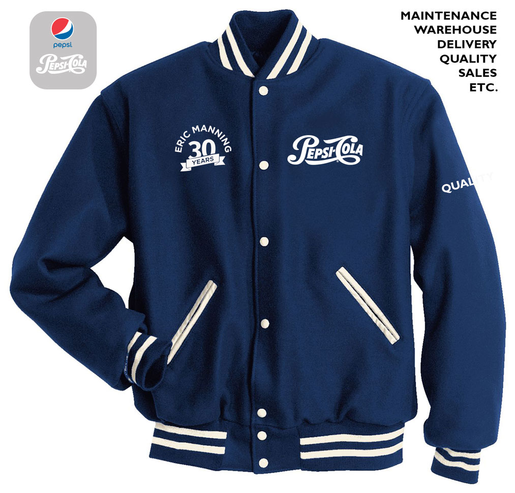 Adult Letterman Jacket  - THE ANNIVERSARY JACKET COLLECTION