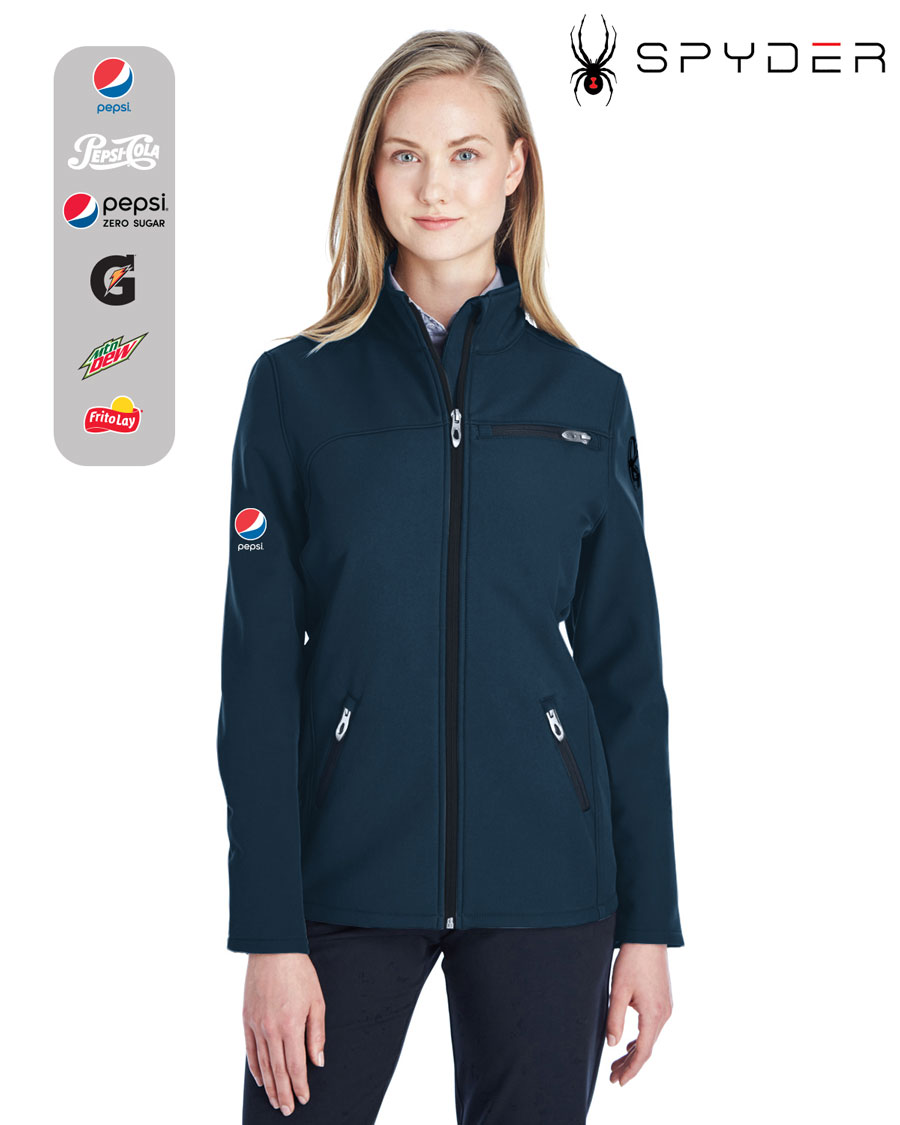 Spyder Ladies' Transport Soft Shell Jacket