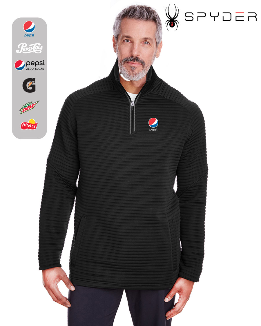 Spyder Men's Capture Quarter-Zip Fleece