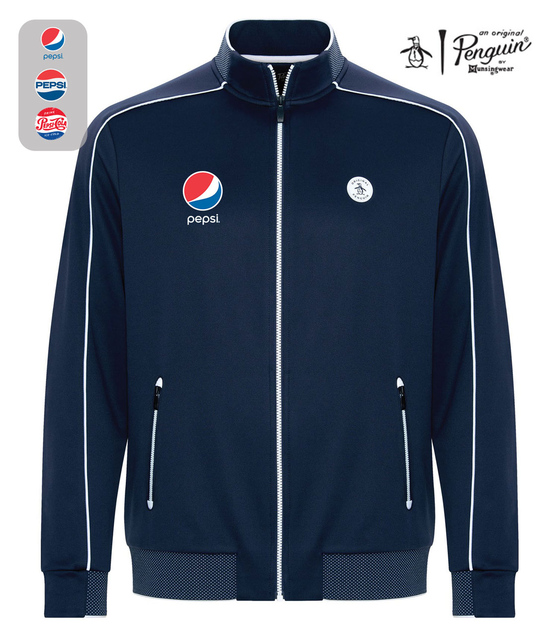 ORIGINAL PENGUIN ® BIRDSEYE TRACK JACKET