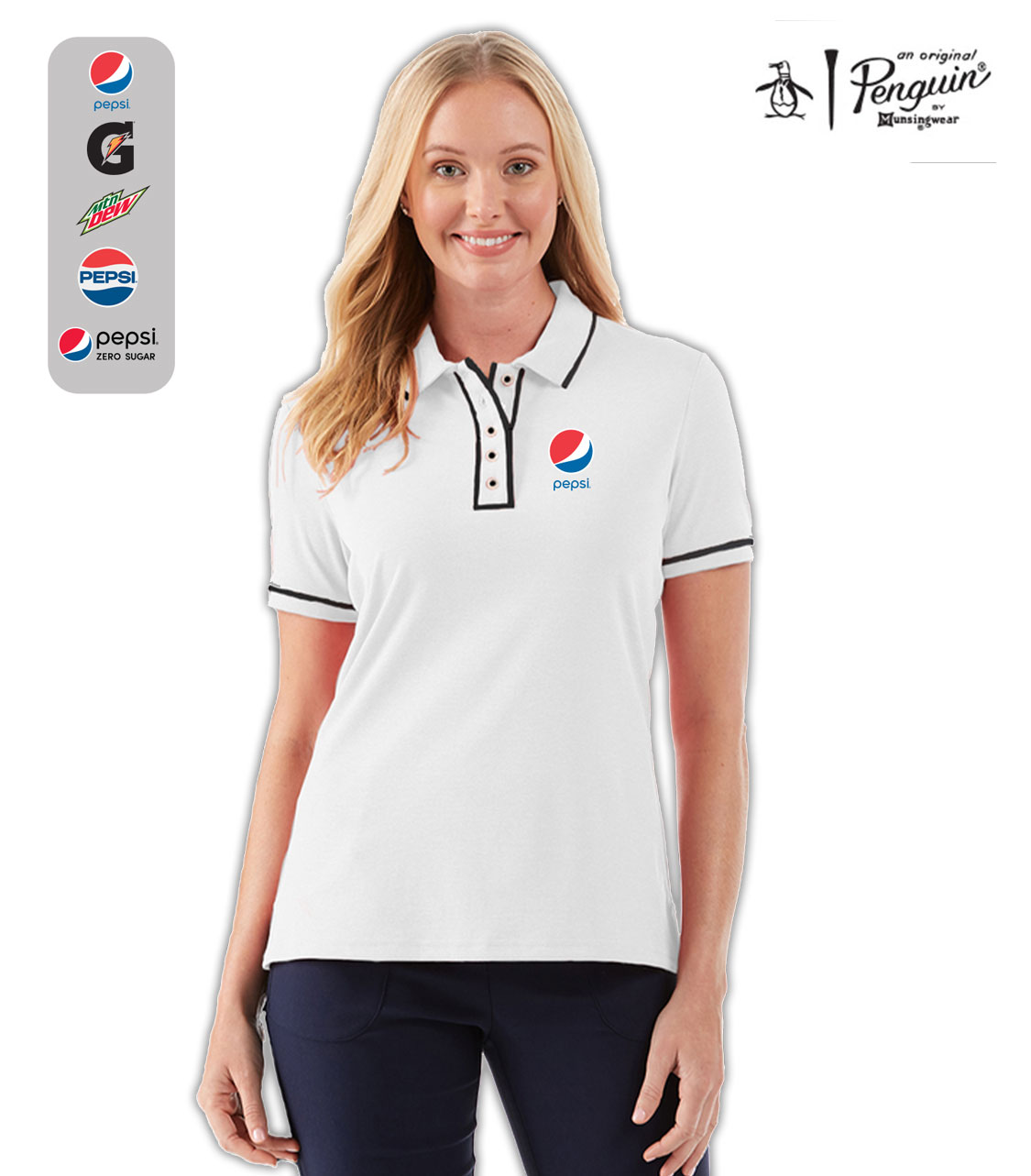 ORIGINAL PENGUIN ® GOLF EARL LADIES' POLO