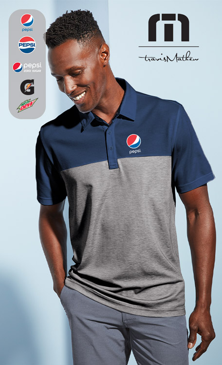 TravisMathew Oceanside Blocked Polo
