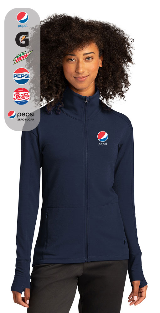 Sport-Tek ® Ladies Sport-Wick ® Flex Fleece Full-Zip