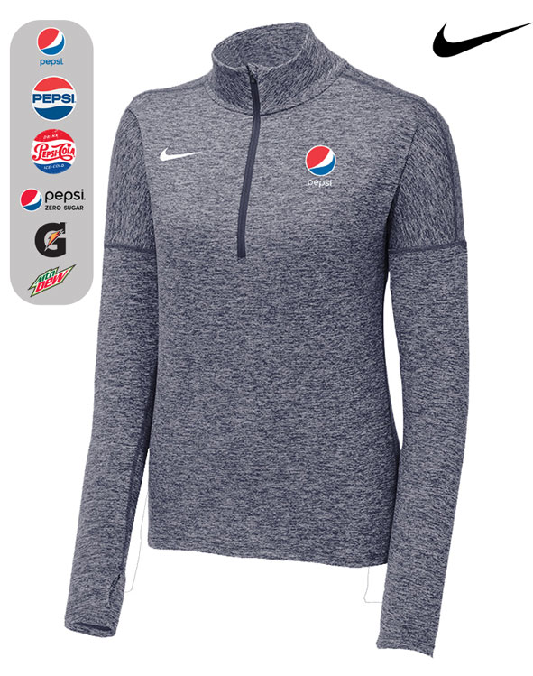 LIMITED EDITION Nike Ladies Dry Element 1/2-Zip Cover-Up