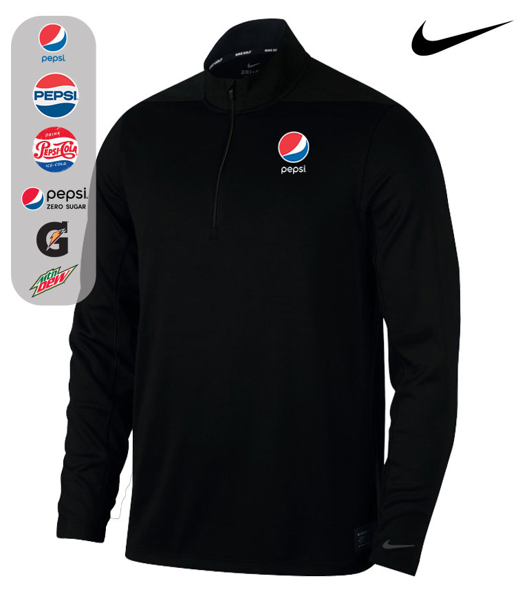 Nike Dry Core 1/2-Zip Cover-Up