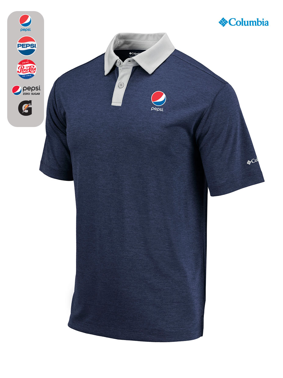 COLUMBIA GOLF Omni-Wick Range Polo
