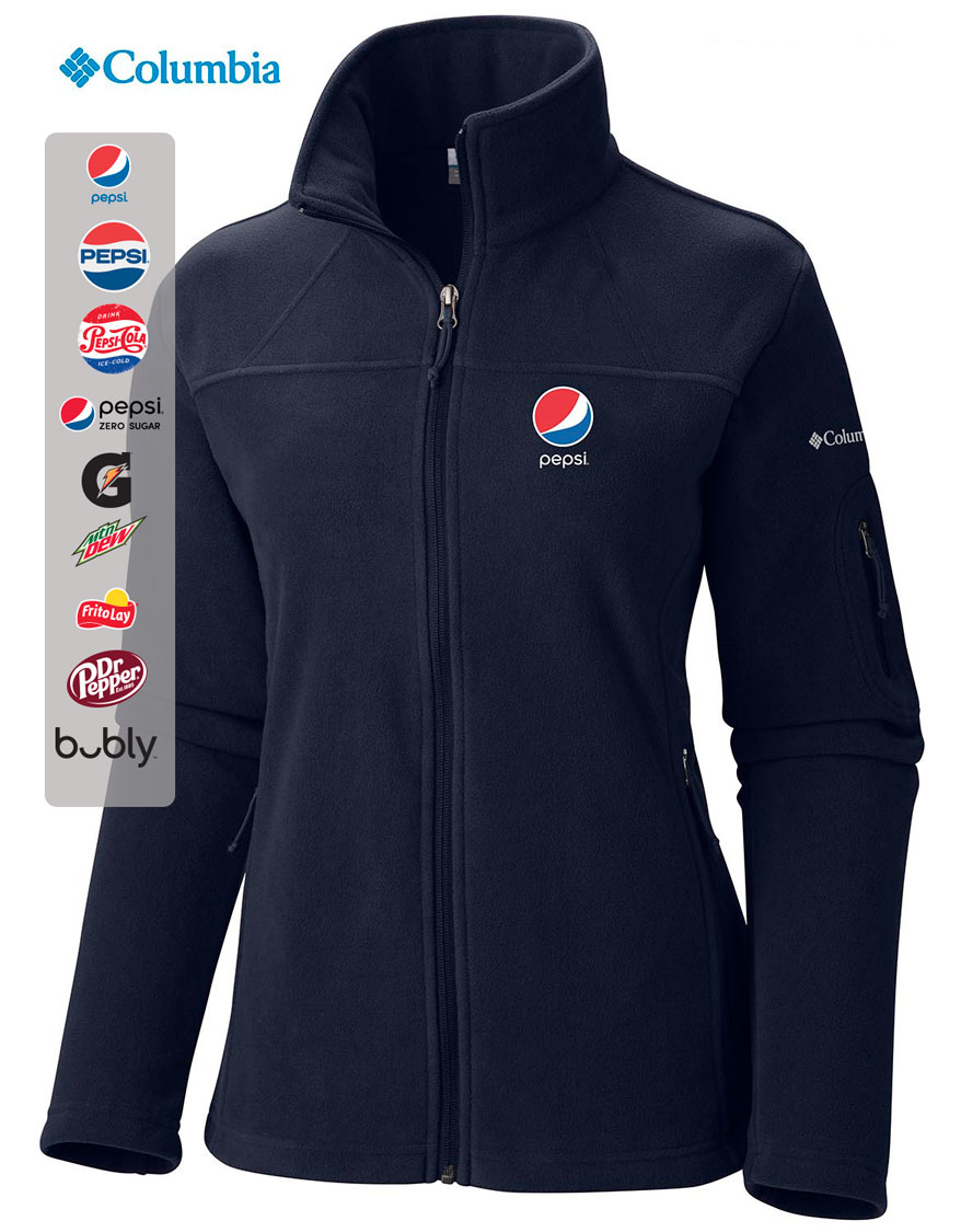 COLUMBIA Women's Give and Go Full Zip Fleece