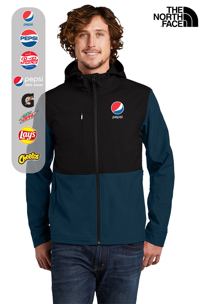 The North Face® Castle Rock Hooded Soft Shell Jacket