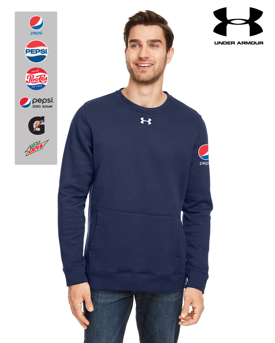 Under Armour Men's Hustle Crewneck Sweatshirt