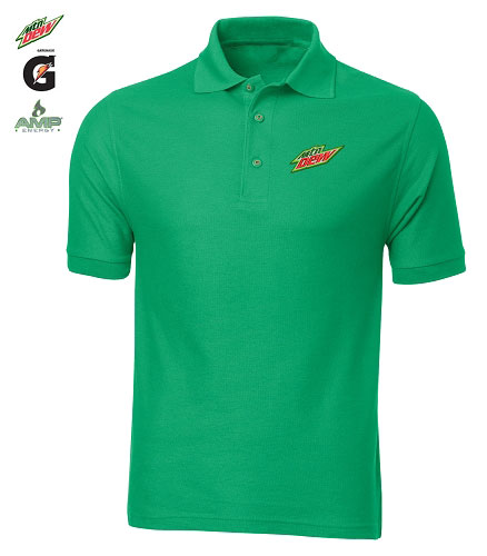 Men's Desert Sands Golf Shirt (Green)