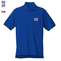 Men's Desert Sands Golf Shirt - Royal