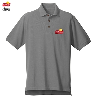 Men's Desert Sands Golf Shirt -Grey