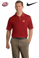 Nike Golf - Dri-FIT Pebble Texture Polo - Men's - Varsity Red