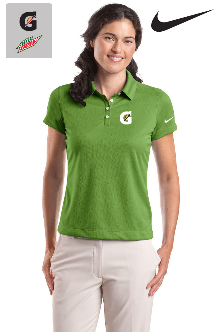 Nike Golf - Ladies' Dri-FIT Pebble Texture Polo - Green