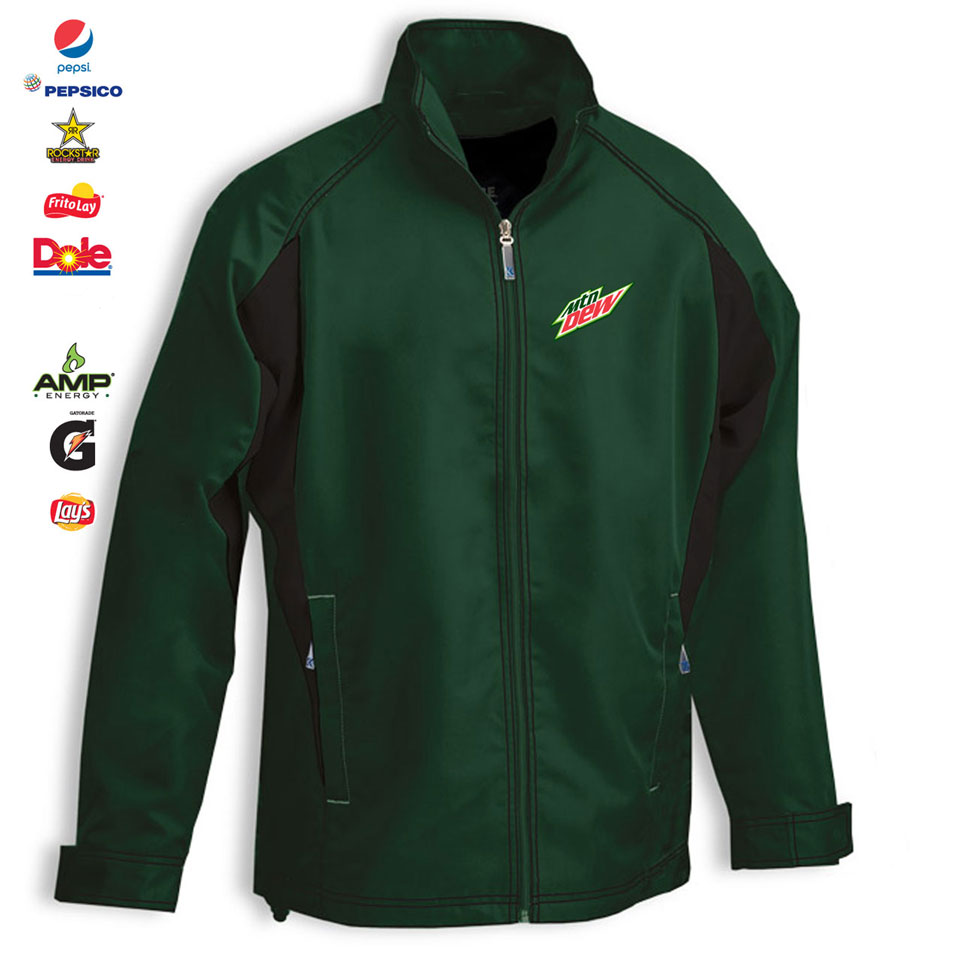 Team Pepsi Two Tone Warm Up Jacket - Adult