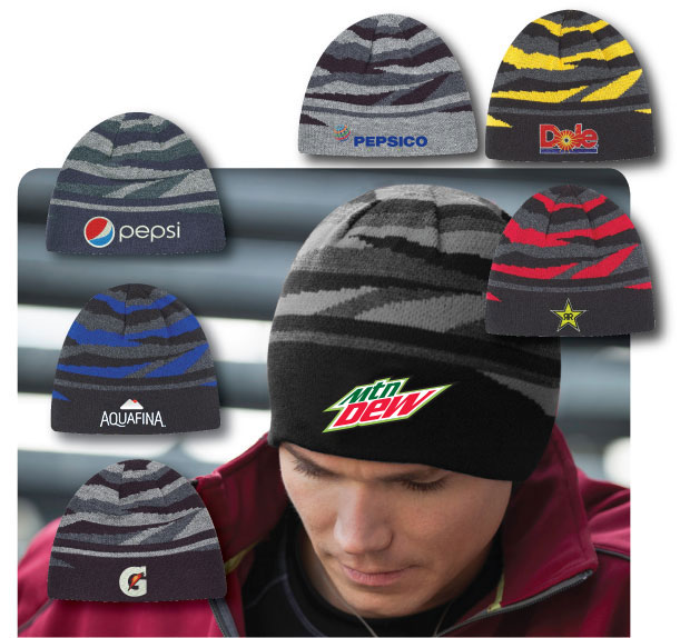 Deluxe Striped Beanie