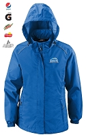 CLIMATE CORE365TM LADIES' SEAM-SEALED LIGHTWEIGHT VARIEGATED RIPSTOP JACKET