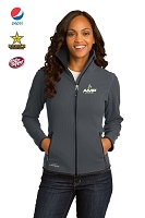 Ladies Full-Zip Vertical Fleece Jacket